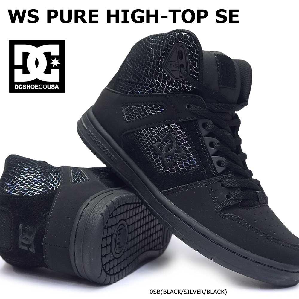 f582472d2ca5f9 Shoes DC Womens Pure High-top Se Skate Shoe ADJS100116