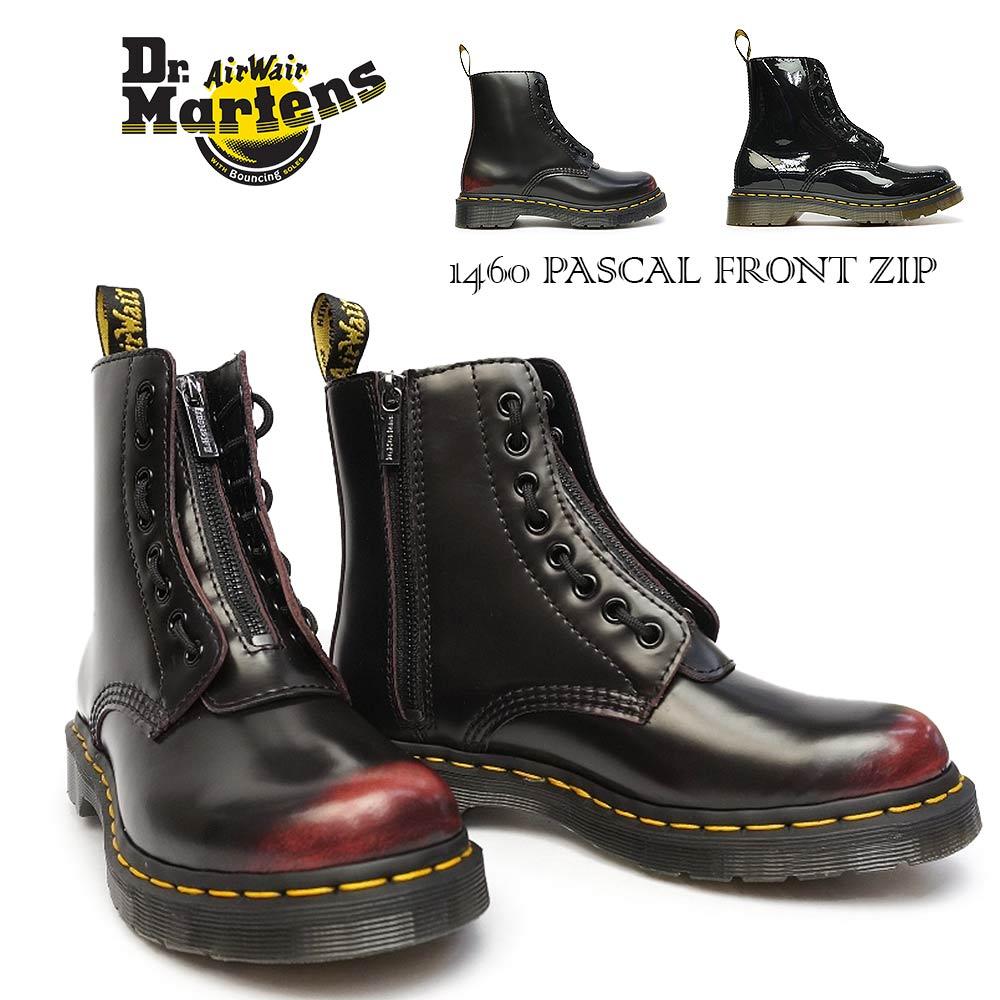 ドクターマーチン レディース 1460 パスカル フロント ジップ 24330600 24842001 8ホール 正規品 8アイ ブーツ Dr.Martens CORE 1460 PASCAL FRONT ZIP 8 EYE BOOT