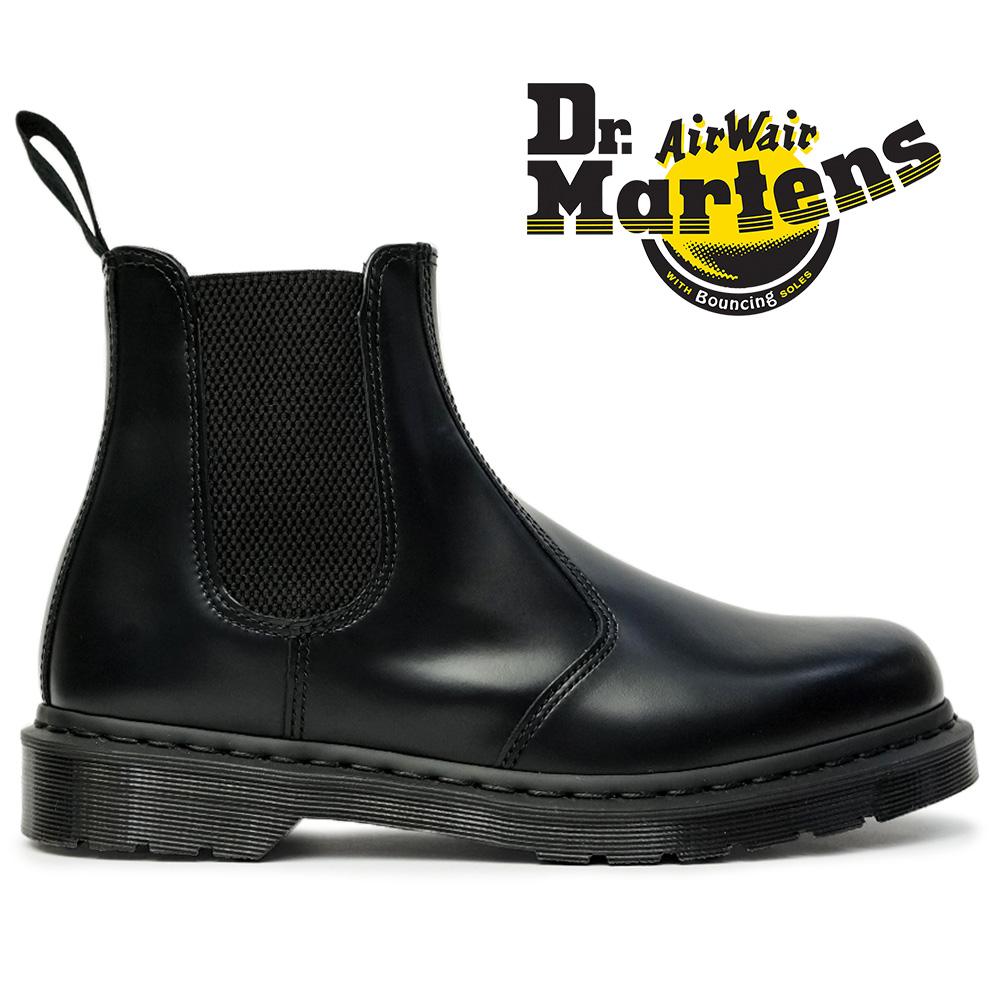 ドクターマーチン サイドゴアブーツ 正規品 2976 MONO チェルシーブーツ オールブラック 25685001 Dr.Martens 2976 MONO CHELSEA BOOT Black