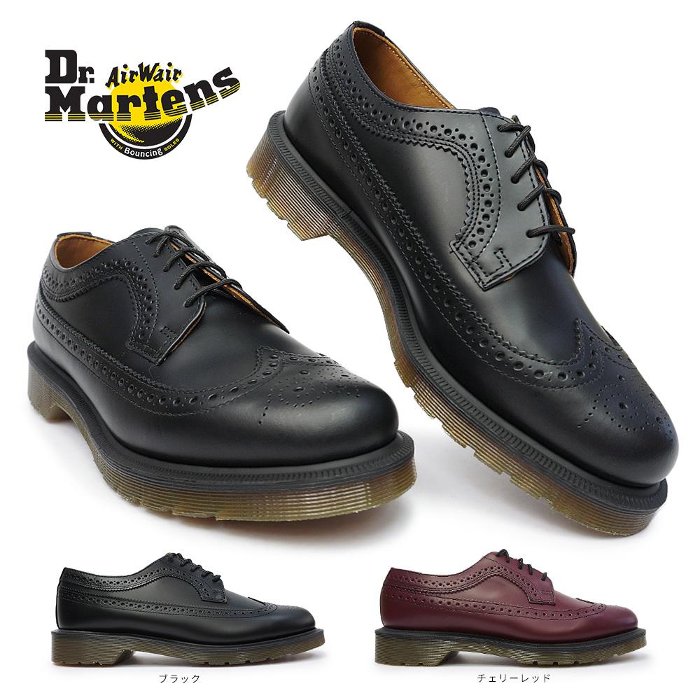 ドクターマーチン 3989 BROGUE SHOE ウイングチップ フルブローグ 革靴 本革 13844001 13844600 Dr.Martens