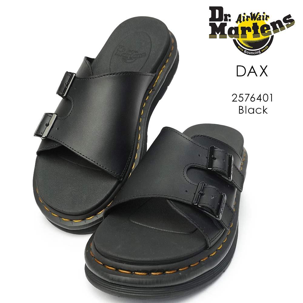 ドクターマーチン サンダル DAX ダックス メンズ レザー 本革 厚底 Dr.Martens LORSAN DAX