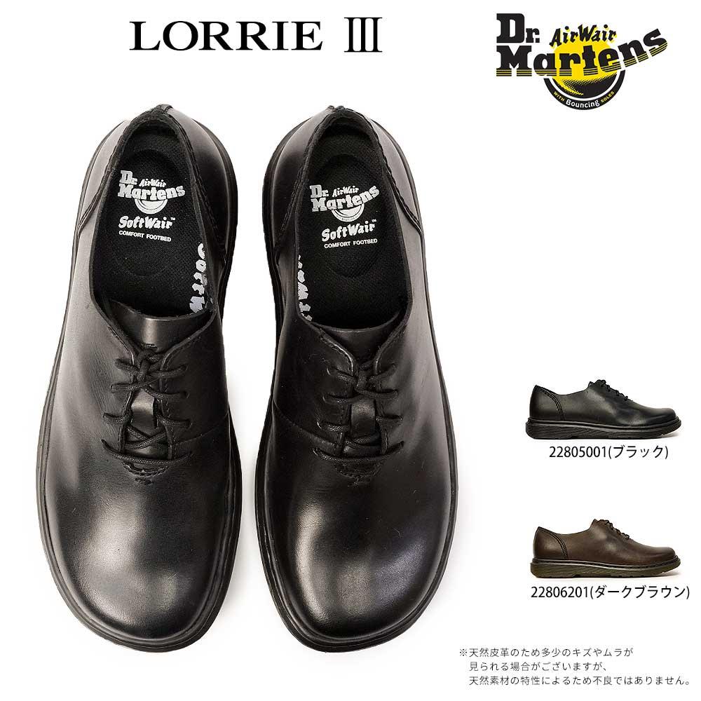 ドクターマーチン ロリー 3 レディース レザー カジュアルシューズ 22805001 22806201 Dr.MARTENS LORRIE 3