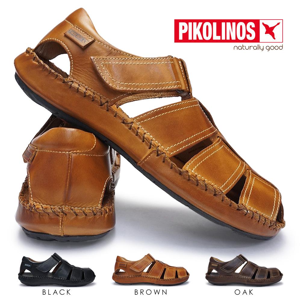 ピコリノス メンズ カジュアルシューズ PK-290 06J-5433 タリファ 本革 サンダル PIKOLINOS TARIFA