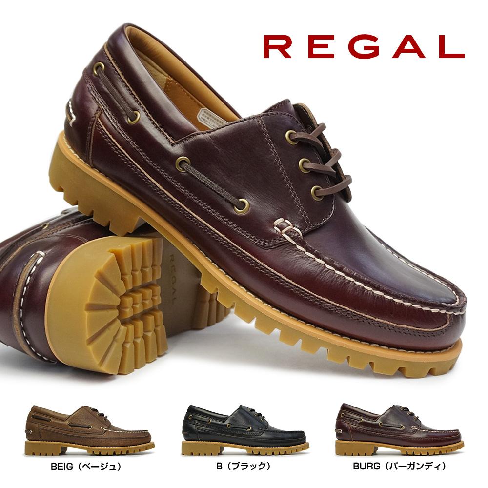リーガル 靴 メンズ カントリーモック 52VR モカシン ラギッド タンクソール ワークシューズ Regal 52VRBD