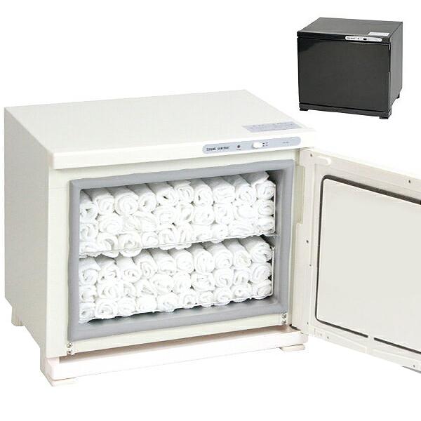 タオルウォーマー 18L ホットキャビネット 2段棚皿式 おしぼり エステ 飲食店 美容室 介護 TH-18(1)