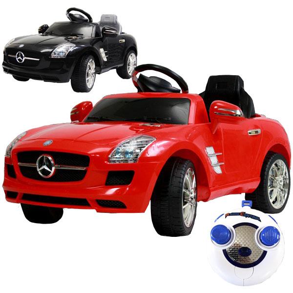 電動乗用カー 電動乗用ラジコンカー メルセデスベンツ 公式 SLS AMG 電動乗用玩具 クーペモデル プロポ操作可能 クリスマス プレゼント 子供 7997A