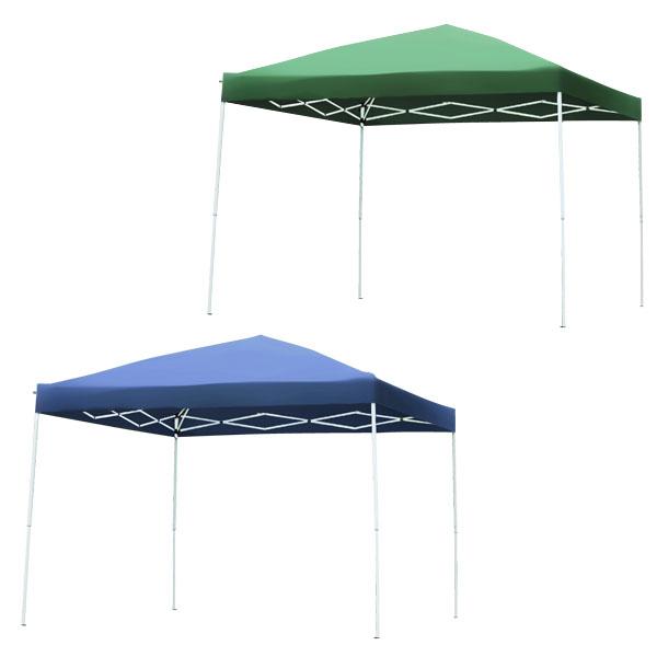 タープテント テント ワンタッチタープテント UV加工 2.4×2.4m 専用BAG付 テント タープテント タープ ワンタッチ キャンプ 日よけ HC-A24UV