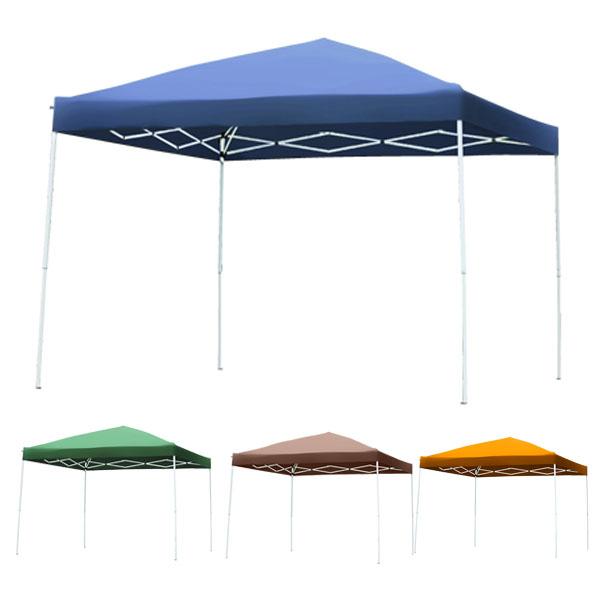 タープテント 4色有り テント ワンタッチタープテント UV加工 3.0×3.0m 専用BAG付 テント タープテント タープ ワンタッチ キャンプ 日よけ イベントテント ワンタッチテント HC-A30UV