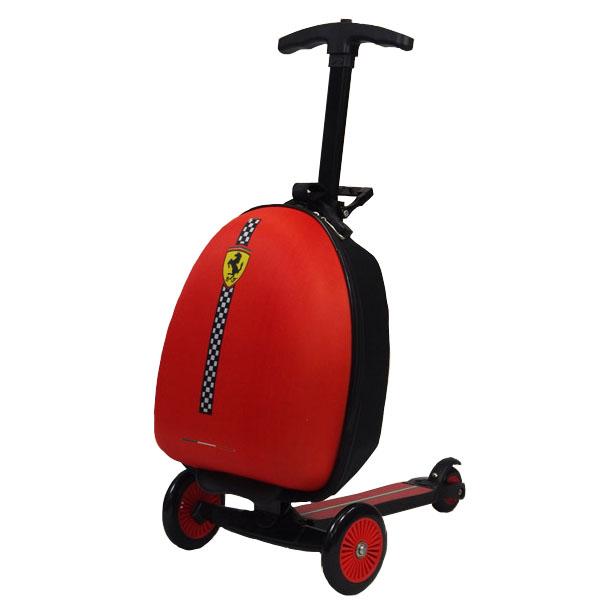 フェラーリ スーツケース&キックスケーター キックボード キックスクーター付きスーツケース バック 鞄 カバン ケースFXA45