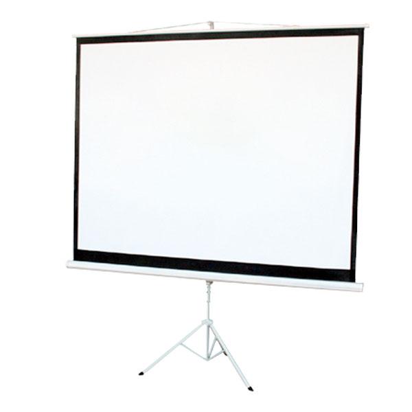 プロジェクタースクリーン 100インチ スクリーン 100インチ 4:3 三脚自立式 床置き プロジェクター フロア スクリーンTC41002