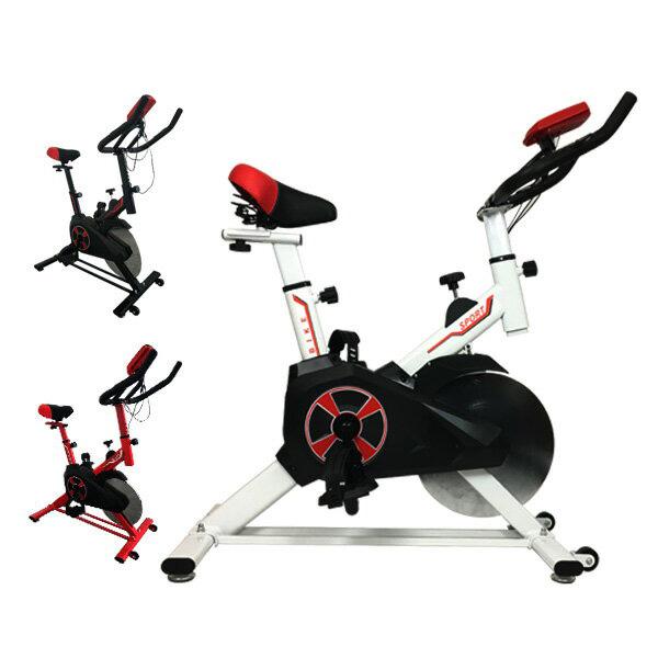 フィットネスバイク スピンバイク トレーニングバイク 小型 室内用 小型サイズで本格トレーニング エクササイズ バイクYS-S02(1)★