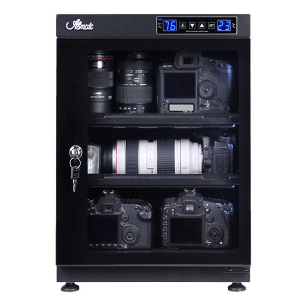 防湿庫 カメラ用 オートドライ 68L 全自動防湿庫 LEDデジタル表示 防湿庫AB-68EM