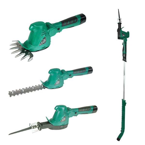 ガーデントリマー コードレス 充電式 ヘッジトリマー 軽量 DIY 電動のこぎり ガーデニング 草刈り 枝刈り 芝刈り 補助輪付 ツールセットYS130X