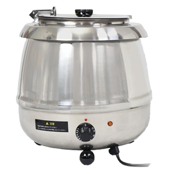 スープジャー 9L 業務用 スープケトル スープウォーマー 保温ジャー ポット ビュッフェ バイキング 湯煎式 保温ジャーSB6000S