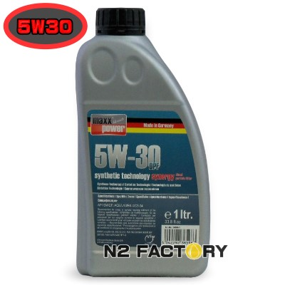 """Recommend Manager! maxxpower premium 5W-30 DPF Fully-Synthetic """"Synergy""""1 L / max power premium full - synth""""synergy"""""""