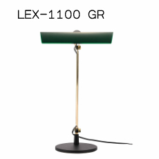 デスクライト LED バンカーズランプLEX-1100 NY無段階調光 タッチレススイッチ スワン電器 SWAN EXARM