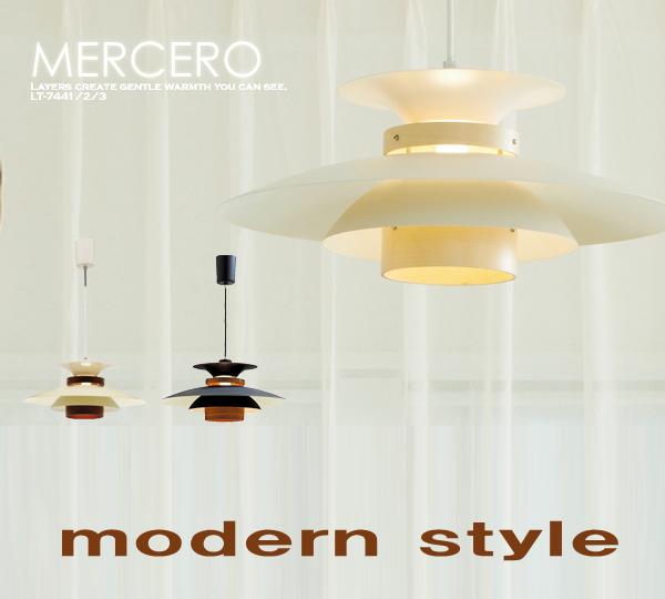 【北欧スタイル/デザイン照明】天井照明 1灯 北欧 モダン ペンダントライト*MERCERO