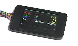 《特売商品》パチスロ実機用 奉呈 新品 現品 黒色新品スロット用 新型タッチパネル式IPS液晶データカウンター