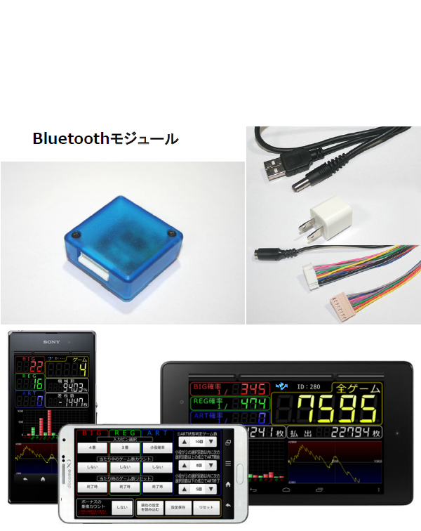 BTCounter【新品スロット用】ブルートゥースユニット【パチスロ中古実機/スロット中古実機】