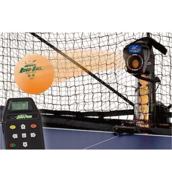 ボール5ダースおまけ付『チョレイ!』育成 卓球マシン ロボポン2055 Robo-Pong2055 11-093【プラボール対応】【プラスチック40+対応】 40+/トレーニング/卓球マシーン/自動送球/ 三英/サンエイ/プログラム