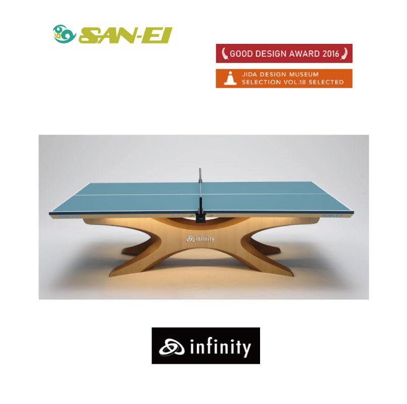 卓球 三英 卓球台 SAN-EI infinity 10-216 リオオリンピック 受注生産 組み立て送料別途【お買い物マラソン対象】【送料は発送地域で異なります!(後に加算)】