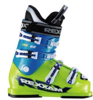 スキー:【送料無料】REXXAM レグザム ジュニアレース用ブーツ LIVE-60 BX-Cインナー レース レーサー 基礎 デモ ゲレンデ