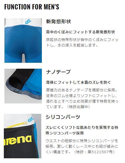 Swimsuit: arena ARENA AQUAFORCE INFINITY free infinity ARN-2041M