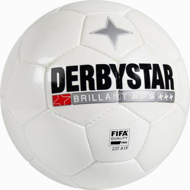 サッカー:ダービースター サッカーボール FIFA公認 5号球 「DERBYSTAR」Brillant APS WHITE 1700-05 2016【送料無料!】