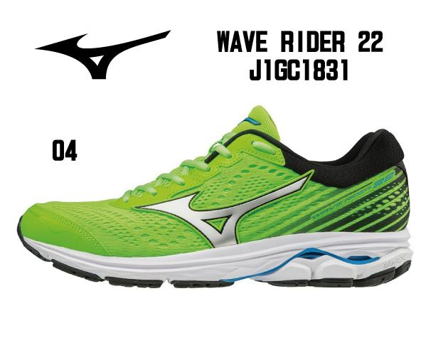【増税前最後スーパーセール】Mizuno:ミズノ ランニング WAVE RIDER 22 ウエーブライダー22 [J1GC1831]【送料無料!】 ジョギング ジョグ ランナー サブ4.5 クッション性 トレーニング