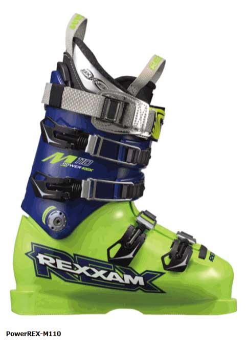 スキー:REXXAM レグザム スキーブーツ PowerREX-M110 BX-H14インナー 【送料無料】