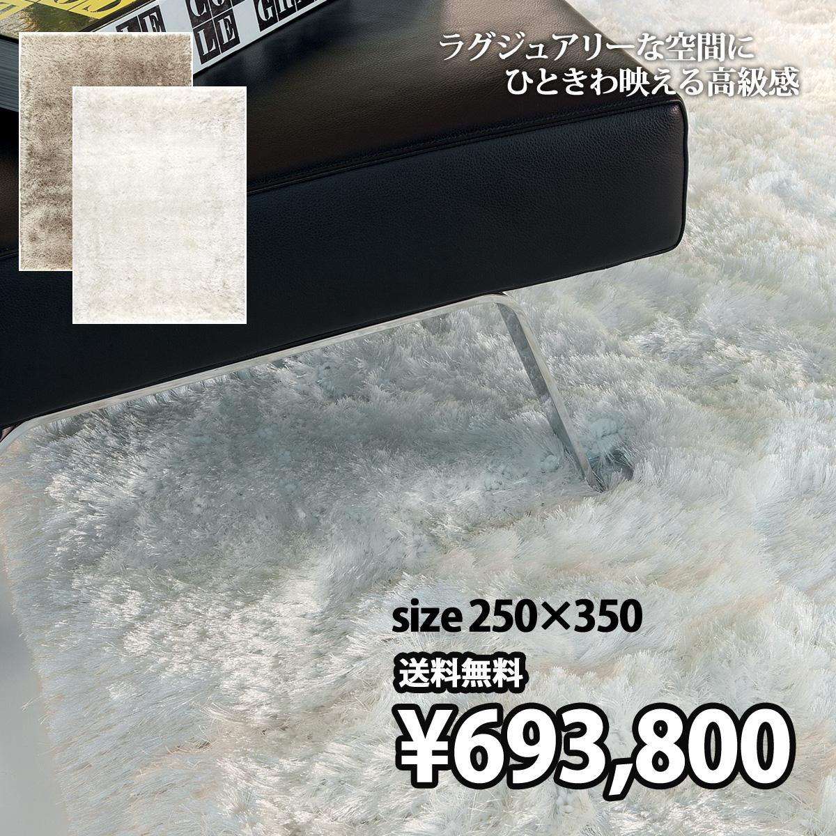 最高級の品質。斬新なデザインと新しいスタイルのラグ 250×350 インポート ハンドメイド セミオーダー ラグ マット カーペット-LIGNE PURE-adore 207.001.100,900 【li】