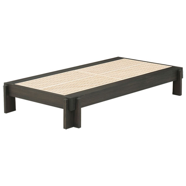 【送料無料】【国産】組子ベッド 総桐 布団用ベッド すのこベッド 組立簡単 ベッド 無垢 木製 日本製 軽量 特許取得 安心 ハッシュベッド #ベッド