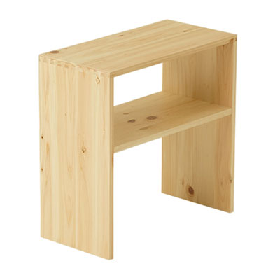 【送料無料】 国産 ひのき ナイトテーブル サイドテーブル 木製 無垢 ベッド テーブル 台 棚 完成品 日本製 F☆☆☆☆ 安心 【広島県の職人が作る】