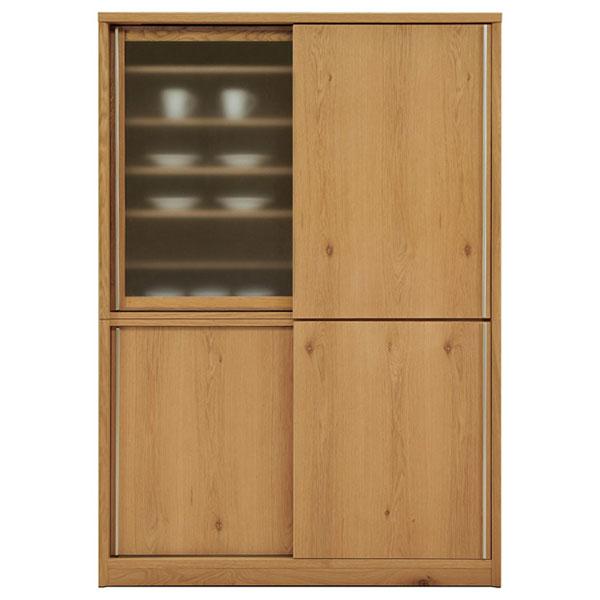 【開梱設置無料】【送料無料】140 ダイニングボード 140cm 食器棚 完成品 国産 キッチン収納 日本製