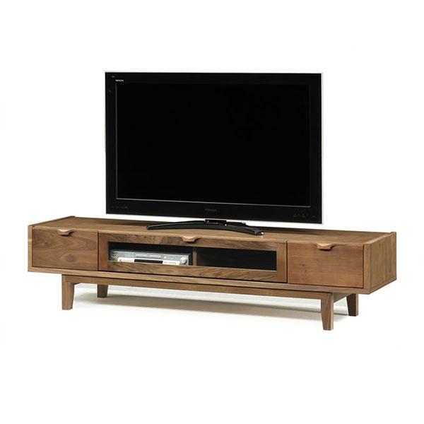 【開梱設置無料】【送料無料】180 テレビボード ウォールナット 木製 完成品 テレビ台 日本製 国産 自然塗装 低ホルマリン