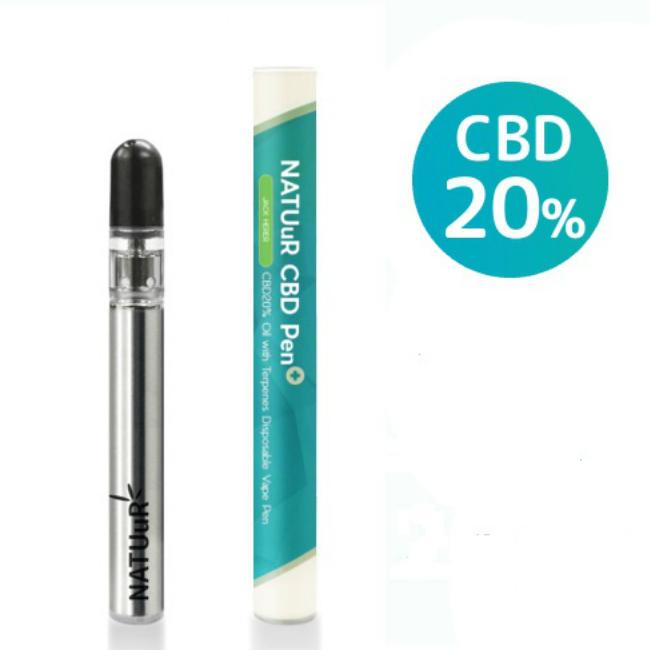 キャッシュレスで5%還元 CBD Pen Plus 20%CBDオイル入り テルペン配合 使い捨てCBDペン プラス 高濃度CBD配合 選べる 2フレーバー