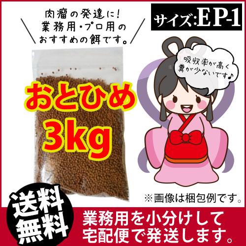 (※ 우송) 오토 히메 EP1 (침 몰) 3kg/잉어 밥/열대어 먹이/황금 땅콩 (금붕어 오두막-희귀-후쿠오카)