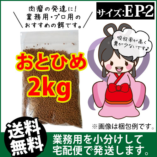 (* Shipping) otohime EP2 (precipitated) 2 kg / koi food, tropical fish  food, Arowana food (goldfish hut-Fukuoka)