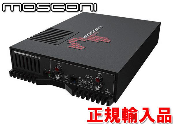 正規輸入品モスコニ MOSCONI GLADEN ONE1000.1 1ch モノラル パワーアンプ 定格出力 600W x1(4Ω負荷時)