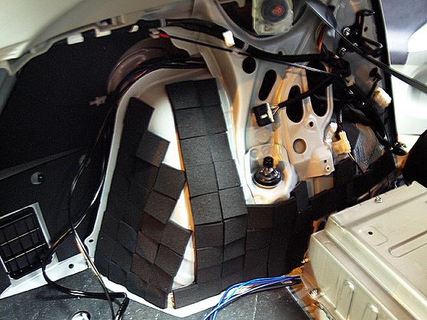 フェリソニ/ Felisoni FS-0373 プリウス30系専用 リアタイヤハウス防音セット