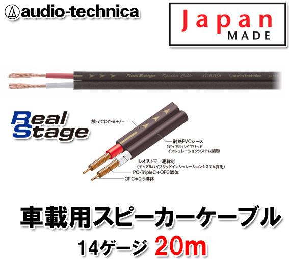 オーディオテクニカ AT-RS150 20m切売 14ゲージ相当 スピーカーケーブル
