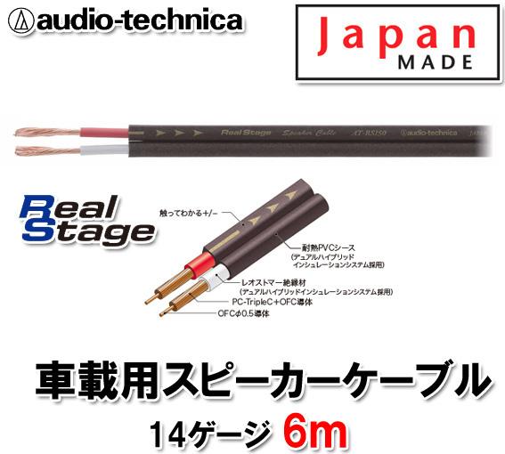 オーディオテクニカ AT-RS150 6m切売 14ゲージ相当 スピーカーケーブル