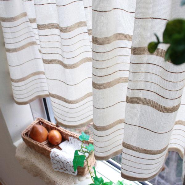 Café curtains: Zack