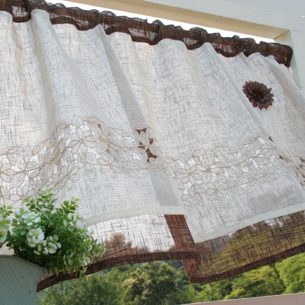 Café curtains: Vivien 02P05Sep15