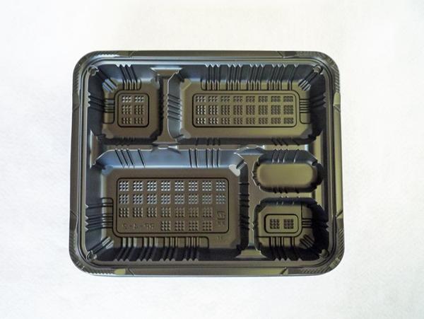 RP-4-2 H 黒 透明高蓋セット 1ケース(600入り)