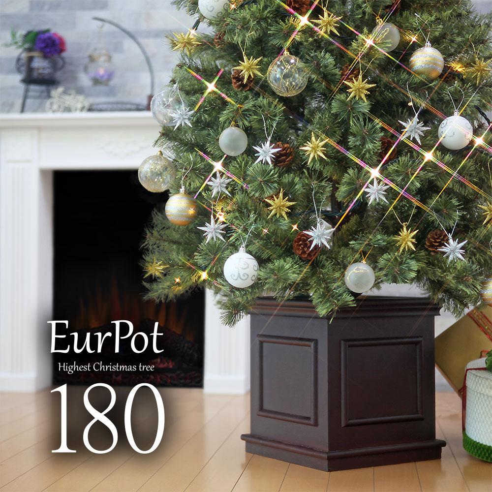 <title>MVP18冠受賞 企業様 個人様に販売本数100000本突破 クリスマスツリー おしゃれ 北欧 180cm 高級 ヨーロッパトウヒツリー オーナメント 飾り セット ツリー ヌードツリー ornament Xmas tree EurPot ベツレヘムの星 ショップ S</title>