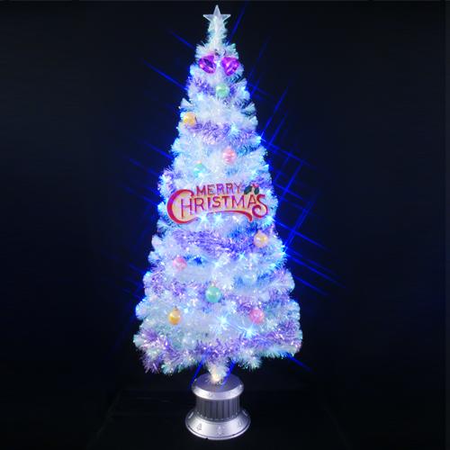 【只今ポイント最低14倍】クリスマスツリー クリスタルファイバーツリー180cm おしゃれ セット