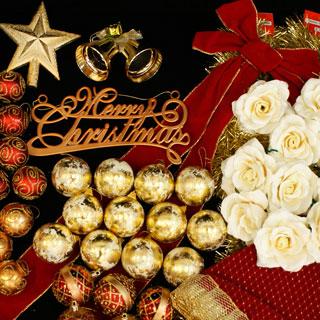 クリスマスツリー 北欧 おしゃれ オーナメント飾り ライト オーナメント セットクリスマス LED