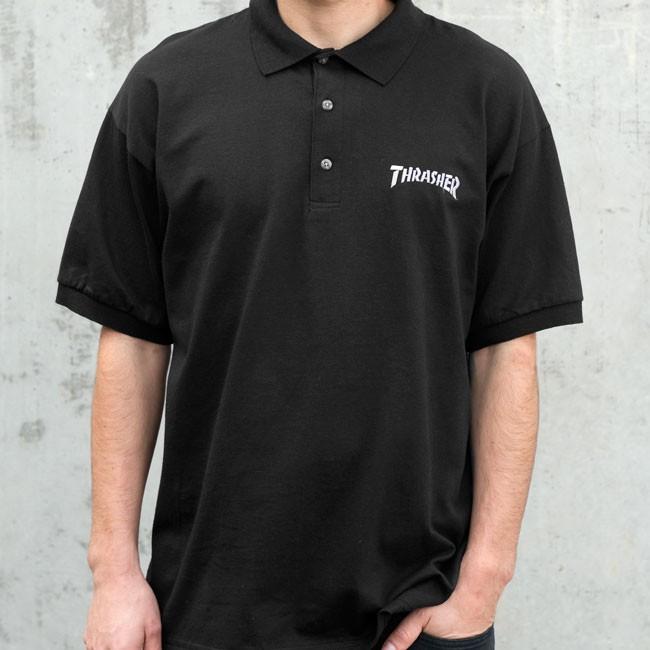 Ninja X Thrasher Magzine Polo Shirt Short Sleeves Shirt Slasher