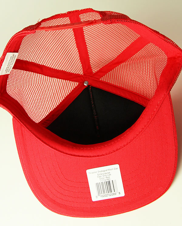 d6e1caa5434 THRASHER MAGZINE cap mesh cap hat slasher Skategoat Mesh Cap Embroidered Red  skateboard SKATE SK8 skateboarding HARD CORE PUNK hard-core punk HIPHOP  hip-hop ...